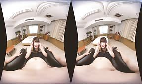 VR Porn Video - Suzumiya Kotone wants you to take her to your room!