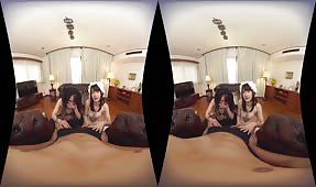 VR Porn Video - Let's Enjoy Two Japanese Maids Japanese VR Porn