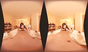 VR Porn Video - Special Exercise Before Sleep Japanese Teen VR Porn
