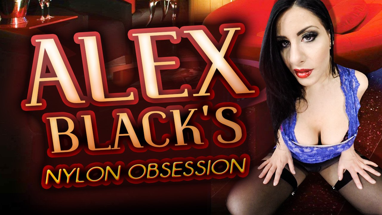 VR Porn Video - StockingsVR - Alex Black's Nylon Obsession