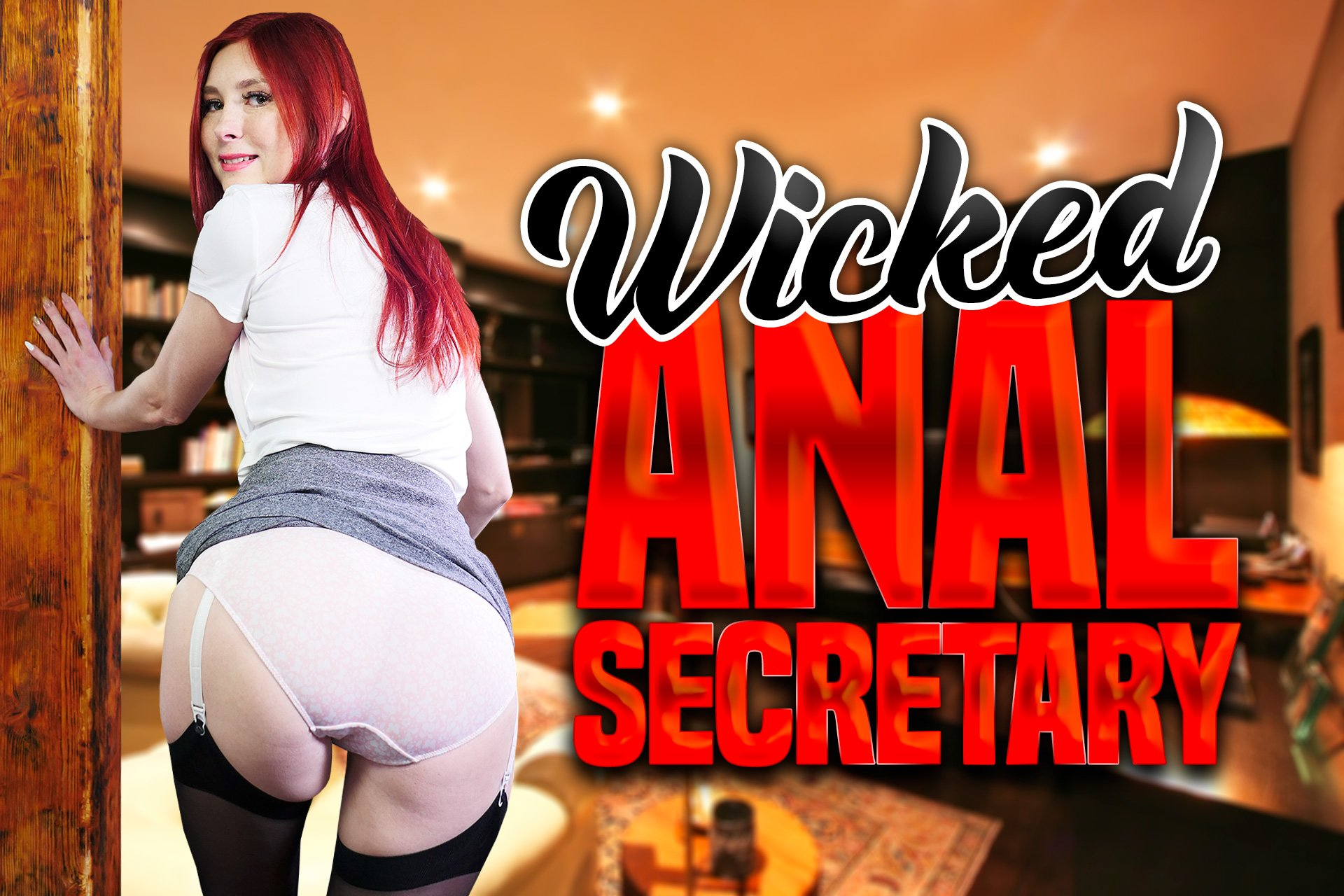 VR Porn Video - StockingsVR - Wicked Anal Secretary Katy Gold
