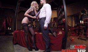 VR Porn Video - Maitresse Madline's Femdom Cuckolding