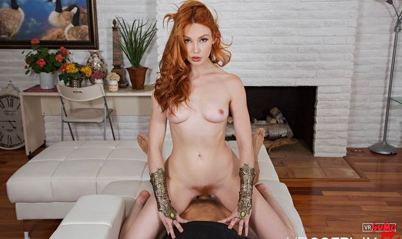 VR Porn Video - AQUAMAN MERA A XXX PARODY: Redhead Lacy Lennon Squirts On your Dick