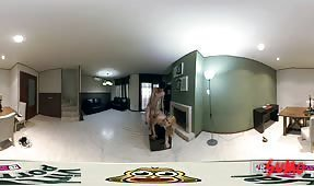 VR Porn Video - Beautiful big tits blonde fucked doggystyle