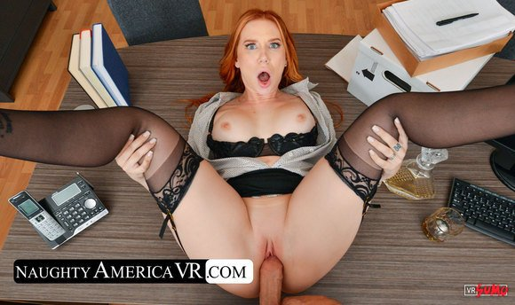 VR Porn Video - Your Employee Madison Morgan Is Very Frustrated With You