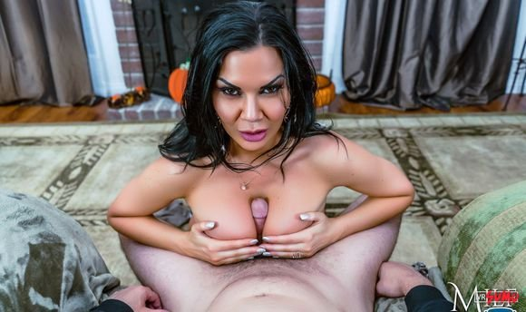 VR Porn Video - Jasmine Jae Gives You A Reward For Thanksgiving