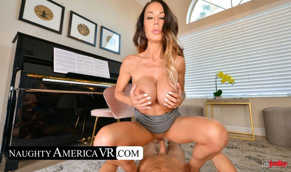 VR Porn Video - Getting Pussy Pounded On Friends Piano