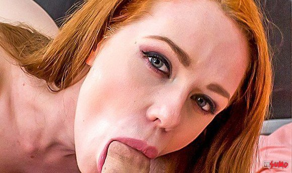 VR Porn Video - Ginger Beauty Ella Hughes Wants A Taste Of Local Dick