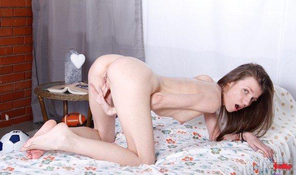 VR Porn Video - Hot College Girl Having Masturbation Session In The Dorm