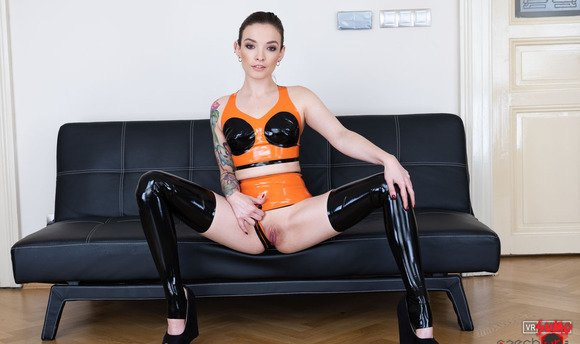 VR Porn Video - Stunning Joi With Babe In Latex
