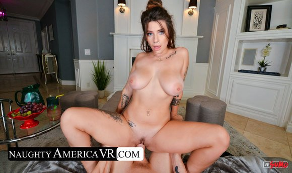 VR Porn Video - Indica Flower Invites You In Her House