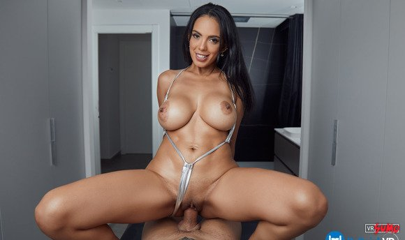 VR Porn Video - Fuck Busty Latina Katrina Morneo