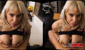 VR Porn Video - Alyssa Lynn Helping You Prepare The BBQ