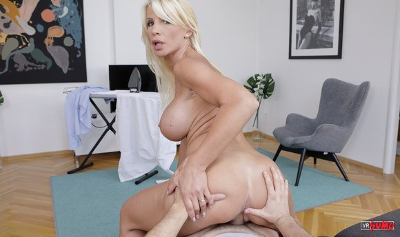 VR Porn Video - Work From Home Got Her Really Horny