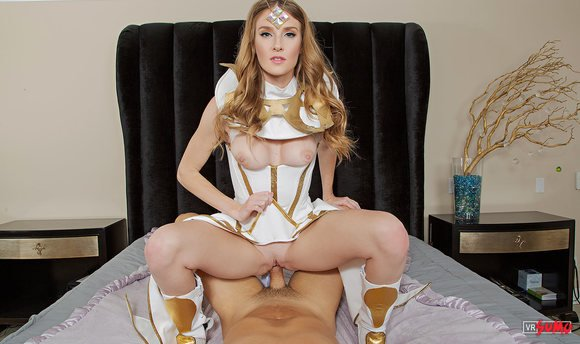 VR Porn Video - LUXANA CROWNGUARD A XXX PARODY: Luxana Uses Her Powers To Fuck You