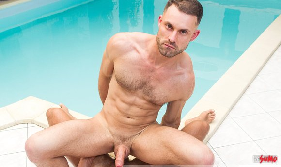 VR Porn Video - James Castle Getting Barebacked By The Pool