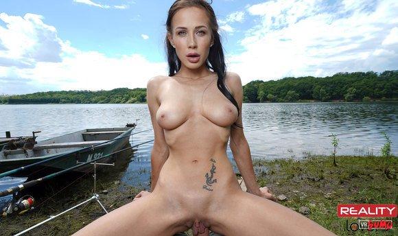 VR Porn Video - Busty Nicole Love Loves Sex Near Lake