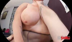 VR Porn Video - Sunny Daze BBW Rides your Cock and makes you JIZZ