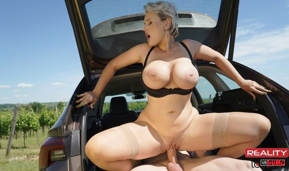 VR Porn Video - Incredible MILF Angel Wicky Loves Sex At Car