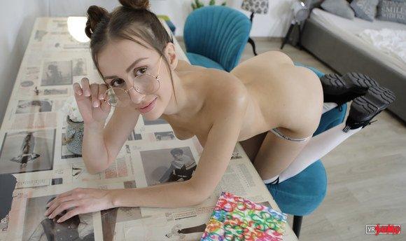 VR Porn Video - Sometimes Good Girls Get A Little Naughty
