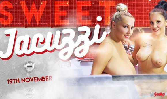 VR Porn Video - Lesbian Jacuzzi Party