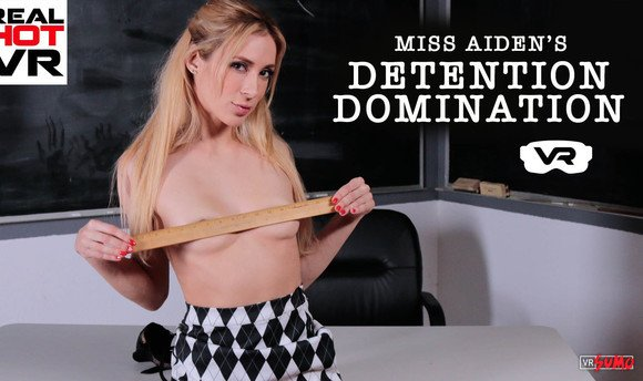 VR Porn Video - Finally Fucked Horny Aiden Ashley