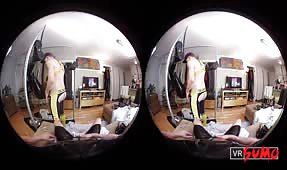 VR Porn Video - Drake Shadows Takes Latex Clad Matt Bauer Hard in a Sex Sling