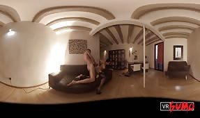 VR Porn Video - Fucking His Horny Stepmom