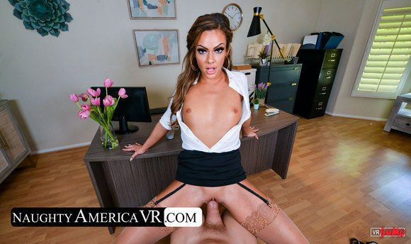 VR Porn Video - Aila Donovan Fuck And Needs Your Cock
