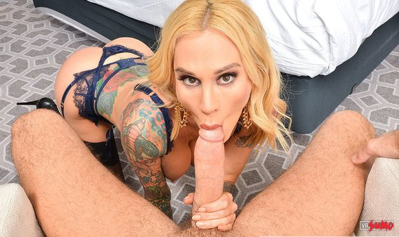 VR Porn Video - Tattooed Milf Sarah Jessie Leaves You Breathless