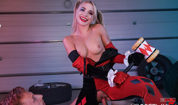 VR Porn Video - HARLEY QUINN A XXX PARODY:Getting Lucky With Batshit Crazy Babe