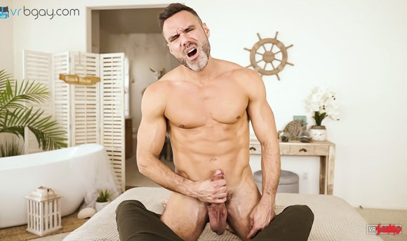 VR Porn Video - Manuel Skye Draining His Balls In Front Of You