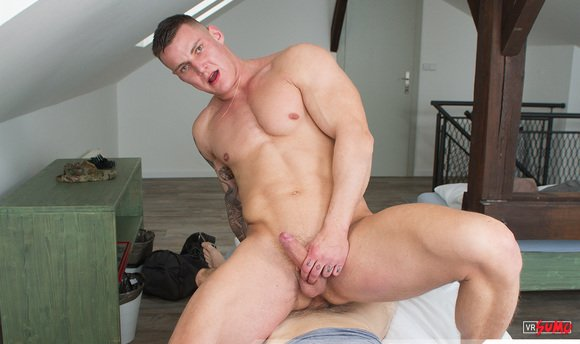 VR Porn Video - Soldier Barebacked In Several Hot Positions