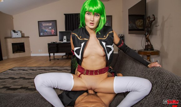 VR Porn Video - CODE GEASS A XXX PARODY: C.C. Will Do Anything For Slice Of Pizza
