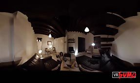 VR Porn Video - New Wife's Pussy Gets Abused on the New Furniture