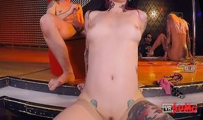 VR Porn Video - Joanna Angel's Erotic Cabaret Threesome