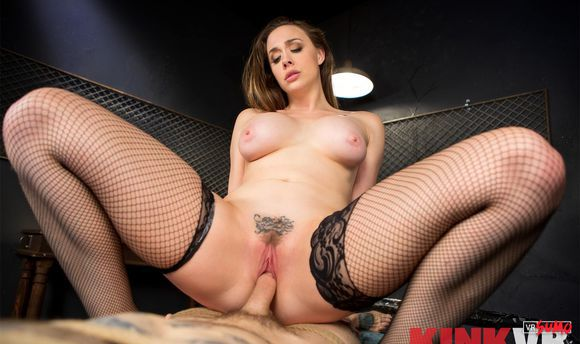 VR Porn Video - Chanel Preston Playing Hard With Her Pet