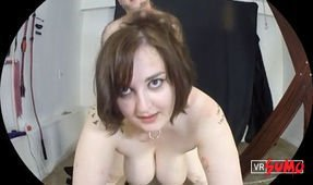 VR Porn Video - Masturbate While Watching Miss BratCat's Pain and Pleasure